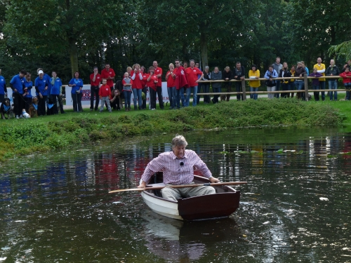 Martin Gaus in de boot genomen
